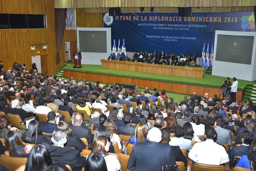 Segundo Foro de la Diplomacia Dominicana
