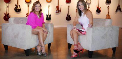 Adamaris Lopez  y Luz García